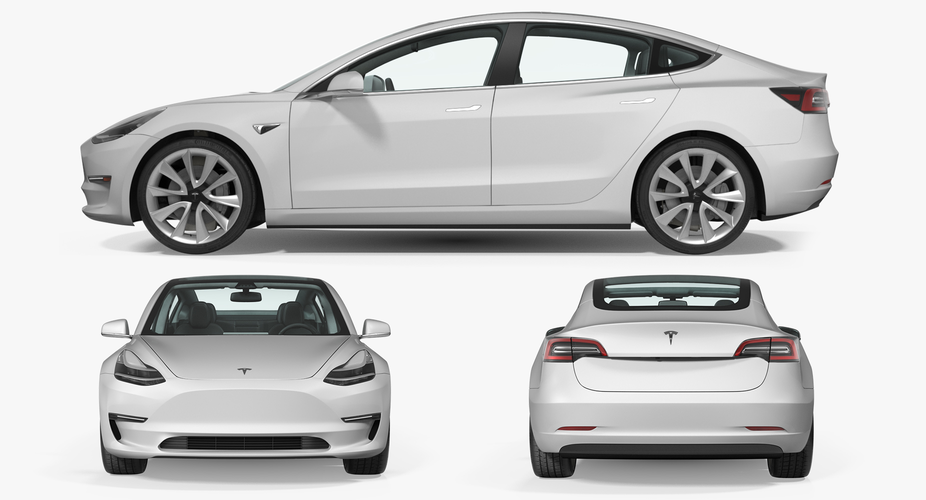 Tesla Model 3 2020 - The Collection Cars USA